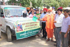 Padma Shree Saint Seechwal flag-off Social Awareness Campaign against Stubble Burning