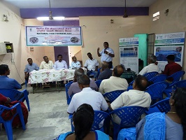 ICAR-CIBA Celebrated National Fish Farmers Day with the costal fishers of Puducherry