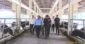 Team of Army Officials visits ICAR-CIRC, Meerut