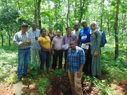 "International Training Programme on ""Tools & Techniques of Soil Resource Survey for Land Use Planning"" concludes"