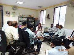 Shri Radha Mohan Singh visits ICAR-IISWC, Research Centre, Vasad, Anand, Gujarat