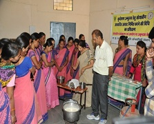Soybased Nutrition Feeding improved health of malnourished children in Madhya Pradesh