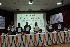 ICAR-DCFR, Bhimtal celebrates the fish farmers' Day