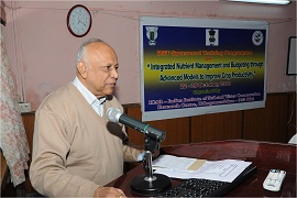 Training Programme on Integrated Nutrient Management and Nutrient Budgeting through Advanced Models to Increase Crop Productivity