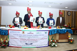 Indo-US Collaborative Feed the Future - India Triangular Training (FTF-ITT) Programme Inaugurated
