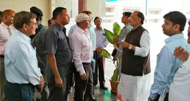 Union Agriculture Minister visits ICAR-Indian Institute of Soil Science, Bhopal