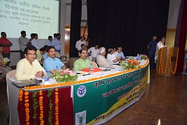 Farmers' Conference on Organic Farming for soil health management and enhancing field crops production and doubling of farmers income organised