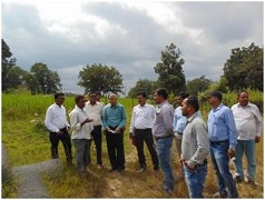 Zonal Monitoring Committee Visits NICRA KVKs of Chhattisgarh