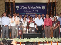 Zonal Workshop of KVKs under Zone IX organized