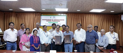 ICAR-CIBA inks MoU with Private Shrimp Hatchery for Knowledge Partnership and Production of Indigenous Shrimp Seeds