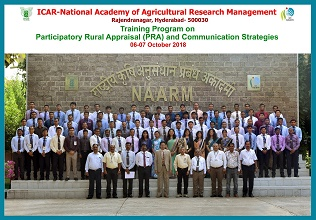 Indian Forest Service (IFS) Probationers Trained at ICAR-NAARM