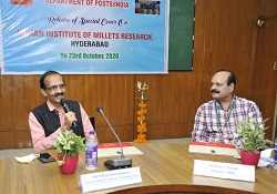 India Post releases Special Postal Cover on Millets