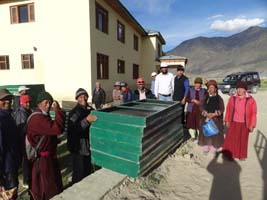KVK spreading Energy Innovations in Zanskar Valley of Kargil