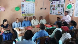 Zonal Monitoring Committee of NICRA-TDC for Zone V visited two KVKs of West Bengal